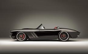Обои 1962, chevrolet, corvette c1, rs, brembo, кабриолет, roadster