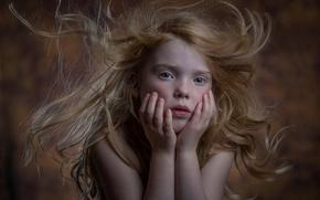 Картинка портрет, девочка, веснушки, Kaylie