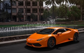 Картинка Lamborghini, Vorsteiner, Wing, Huracan, Install