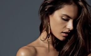 Картинка девушка, модель, Alessandra Ambrosio, Алессандра Амброзио, фотосессия, Victoria's Secret Angels, Harper's Bazaar