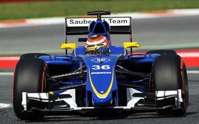 Картинка Formula 1, Sauber, C34, Raffaele Marciello