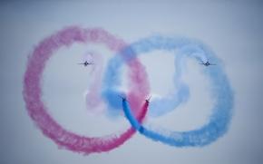 Картинка Red Arrows, Symmetry, Tanagra Air base
