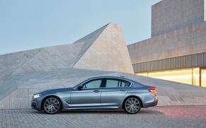 Картинка BMW, БМВ, седан