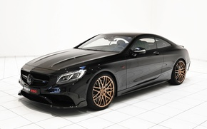 Картинка Mercedes-Benz, Brabus, мерседес, AMG, Coupe, брабус, амг, S 63, бенц, 2015, C217