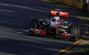 Картинка McLaren, 2011, Australia, Jenson Button, Дженсон Баттон, гран-при Австралии