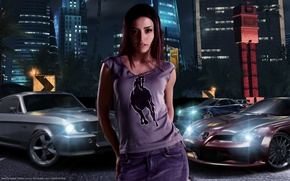 Обои nfs, carbon, Emmanuelle Vaugier, need for speed