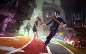 Картинка Девушка, Game, We Happy Few, Compulsion Games