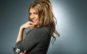 Картинка красавица, Fergie, Black Eyed Peas, американская певица