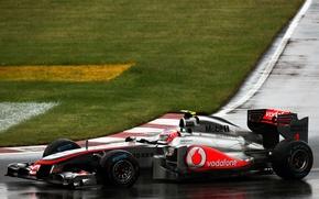 Картинка McLaren, Canada, 2011, Jenson Button, гран-при Канады, шпилька Casino