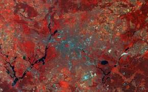 Картинка Germany, Berlin, Earth From Space, Sentinel-2A