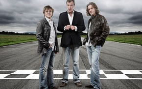 Обои Jeremy Clarkson, Richard Hammond James May, Top Gear