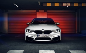 Картинка BMW, white, Coupe, front, F82