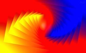 Обои цвет, свет, узор, линии
