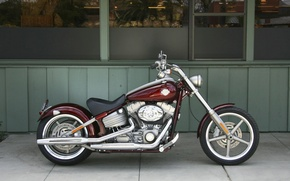 Картинка Мотоцикл, Harley Davidson, Чоппер, Rocker C