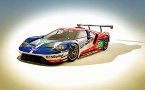 Картинка Ford, суперкар, форд, Race Car, 2016