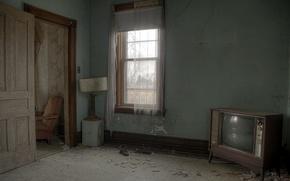 Картинка комната, мебель, телевизор