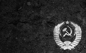 Картинка ссср, герб, фон, серп и молот