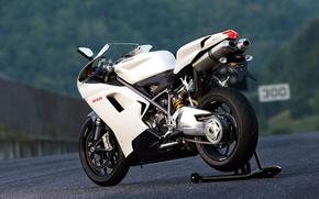 Обои sport, ducati, road дорога, мотоцикл