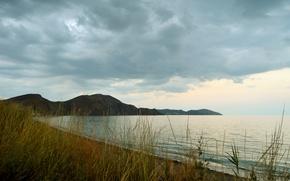 Картинка море, природа, крым, Бухта