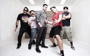 Картинка Pop Punk, Zebrahead, Ed Udhus, Matty Lewis, Dan Palmer, Ben Osmundson, Ali Tabatabaee