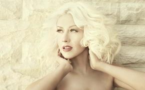 Картинка блондинка, Кристина Агилера, певица, Christina Aguilera