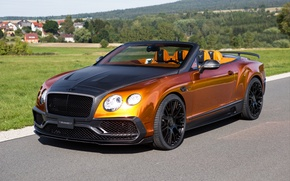 Картинка Bentley, Continental, бентли, континенталь, Mansory, GTC, 2015