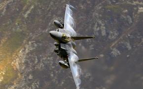 Картинка воздух, полёт, самолёт, F 15 E