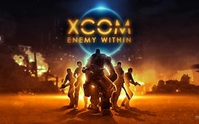 Картинка солдаты, mech, 2K Games, XCOM: Enemy Within, Firaxis Games, Feral Interactive