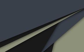 Картинка линии, зеленый, серый, черный, геометрия, design, material