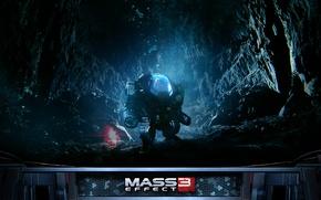 Картинка космос, игра, Робот, Mass Effect