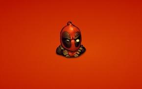 Картинка красный, Wade Wilson, marvel, Deadpool, Дэдпул, комикс