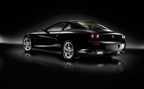 Обои авто, машины, чёрный, ferrari, феррари