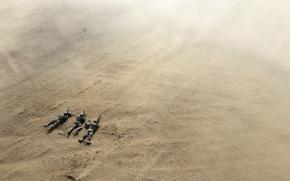 Картинка поле, армия, солдаты