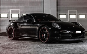 Обои 2015, 991, порше, 911, Porsche, PP-Performance, Turbo
