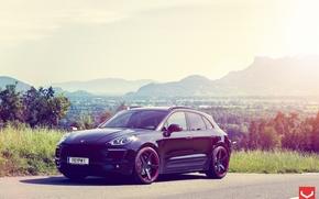 Картинка природа, auto, Porsche Macan on CV3
