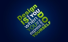 Обои Design, Текст, Слова, Дизайн