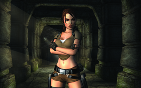 Картинка Tomb Raider, Lara Croft, Tomb Raider Legend