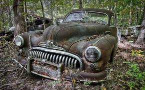 Картинка лом, Buick, фон, машина