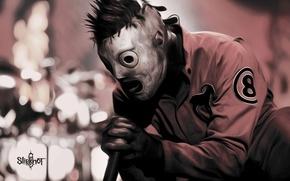 Картинка music, metal, Rock, метал, рок, Slipknot, mask, Кори Тейлор, Corey Taylor, Слипкнот