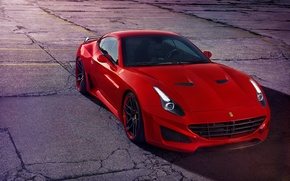 Картинка Ferrari, феррари, калифорния, California, Novitec Rosso, Pininfarina, 2015