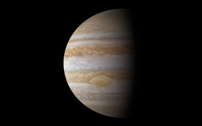 Картинка Юпитер, Газовый гигант, Пятая планета, Jupiter, Бог грозы