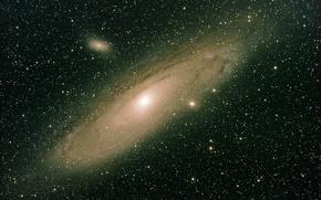 Картинка Андромеды, NGC 224, Галактика, M 31