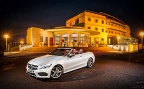 Обои Mercedes-Benz, A205, AMG, Cabriolet, кабриолет, C-Class, мерседес, амг