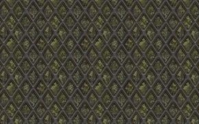 Картинка металл, фон, сетка, решётка, текстуры, ромб, коррозия