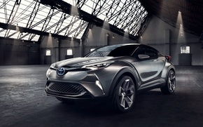 Обои C-HR, 2015, Concept, концентрат, Toyota, тойота