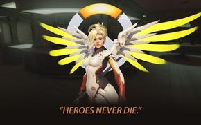Картинка medic, angel, overwatch