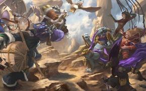 Картинка Chen, Heroes of the Storm, sarah kerrigan, Nazeebo, орк, Jim Raynor, diablo, Rehgar, Warcraft, starcraft, …