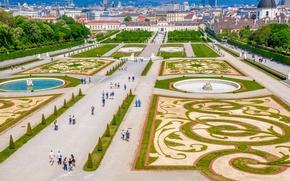 Картинка Австрия, площадь, Austria, Вена, Vienna, Wien