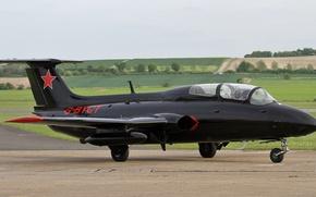 Картинка самолёт, Аэро, учебно-тренировочный, «Дельфин», Л-29