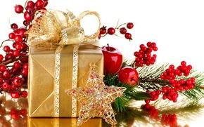 Картинка украшения, праздник, новый год, рождество, подарки